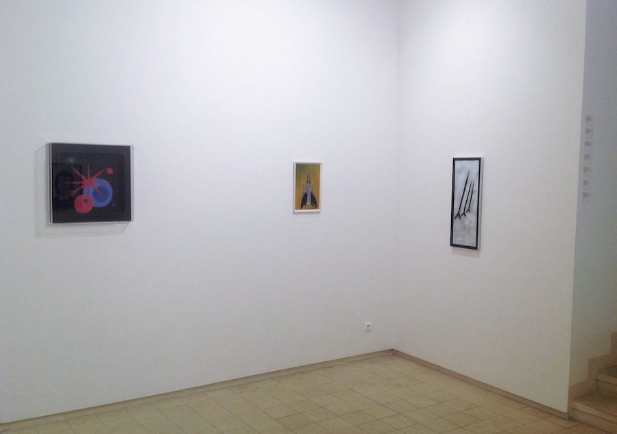 Andy Hope 1930, instalation in Spala Gallery,, Prague,,2014